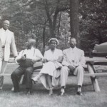 Grandma Berry and Jerry (right) with friends late 1940's or early 50's.